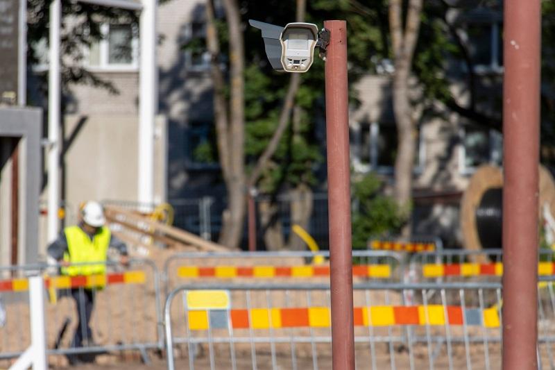installation de système pour protection chantier